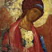 Архангел Михаил из деисусного чина. 1410-е, Андрей Рублёв.jpg